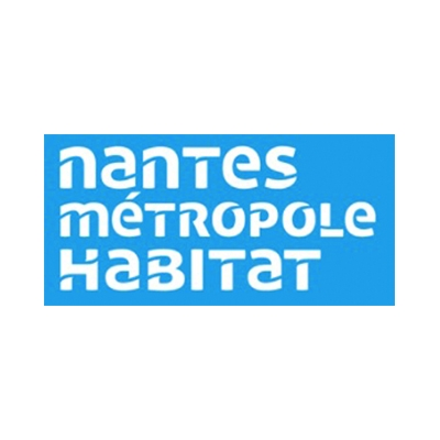 Logo Nantes Metropole Habitat