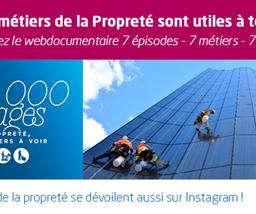 Campagne 500.000 Visages - La propreté, des métiers à voir