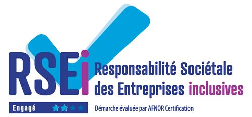 Logo RSEI - Responsabilité Sociétale des Entreprises Inclusives