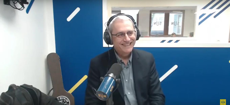 Photo de l'interview de Philippe Fieux sur Sun Radio