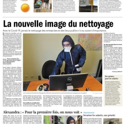 Article Le Maine publié le 14-05-2020 page 02