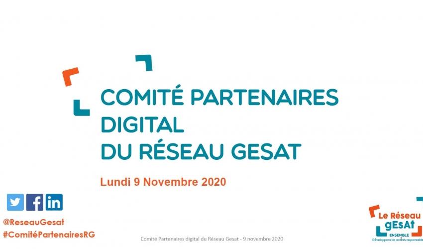 Comité partenaires digital du réseau gésat