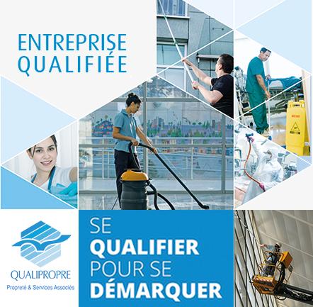 ADC Propreté reconnue par la qualification QUALIPROPRE !